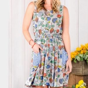 Matilda Jane In Bloom Floral Button Back Dress